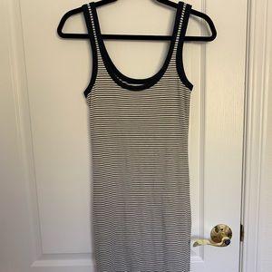 Body con striped dress